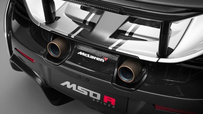 Bo doi sieu xe McLaren MSO R cuc doc cua dai gia bi an hinh anh 5