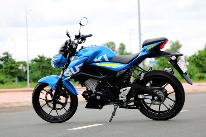 Danh gia chi tiet mau naked bike Suzuki GSX-S150 hinh anh