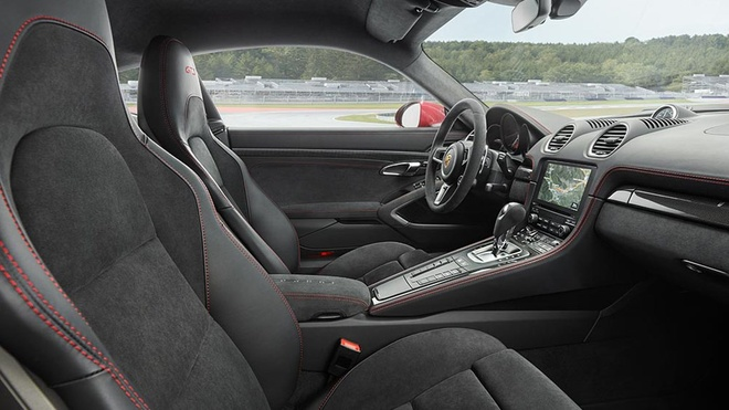 Porsche 718 Boxster va Cayman GTS 2018 duoc nang cap suc manh hinh anh 6
