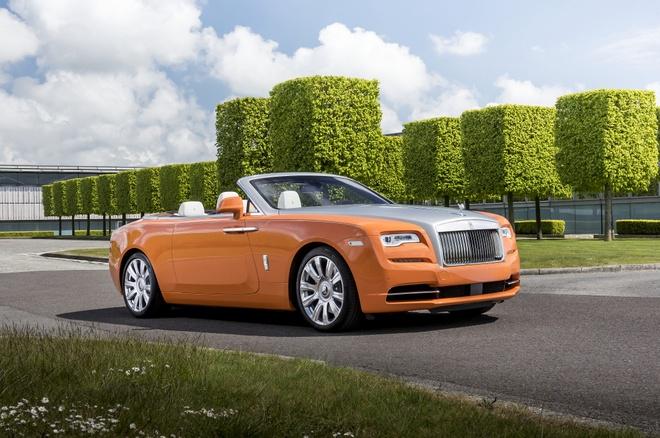 Rolls-Royce Dawn phien ban gioi han danh rieng cho ty phu hinh anh 3