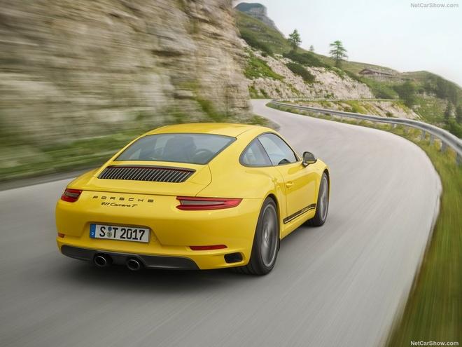 Porsche 911 Carrera T 2018 nang cap manh me, gia hon 100.000 euro hinh anh 9