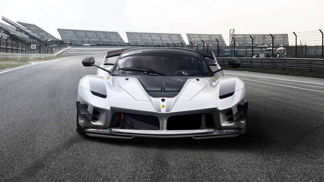 Ferrari ra mat FXX-K Evo sieu gioi han - tuyet pham ngua chien hinh anh