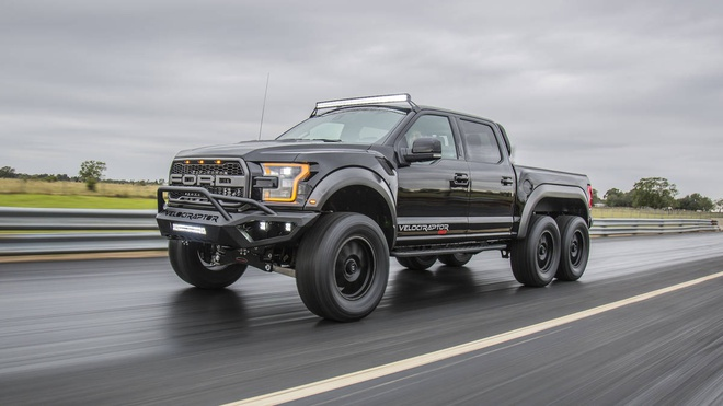 Ford F-150 Raptor do 6 banh cuc ngau manh 600 ma luc hinh anh 1
