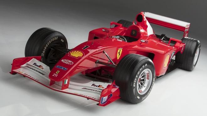 Xe dua F1 cua huyen thoai Michael Schumacher duoc ban gia 7,5 trieu do hinh anh 4