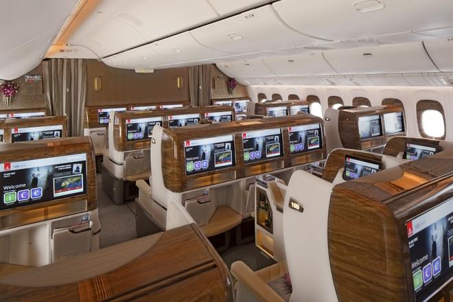 Khoang hang nhat hang bay Emirates phong cach Mercedes S-Class hinh anh 5
