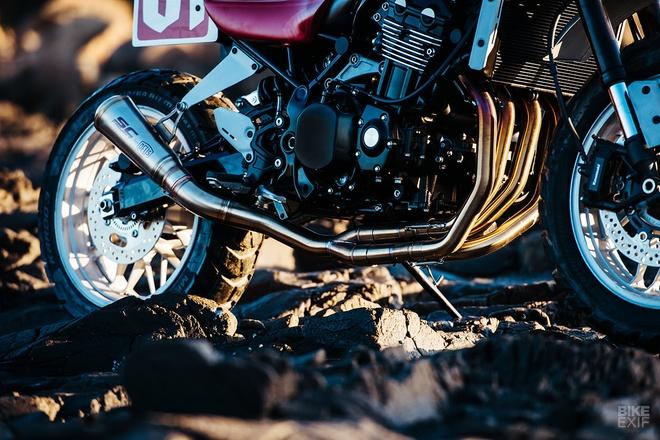 Kawasaki Z900RS Stone Tracker phong cach chua te bong dem hinh anh 8
