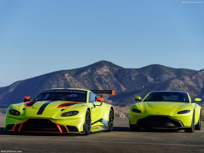 Aston Martin Vantage GTE: Sinh ra chi de dua hinh anh 1