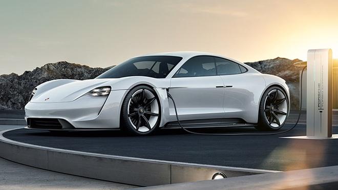 Porsche Mission E concept hinh anh