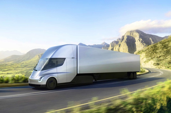 PepsiCo dat 100 xe tai dien Tesla Semi de cho nuoc ngot hinh anh