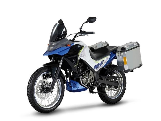 SYM Trazer 200 va Wolf Cafe Racer 300i - moto adventure co nho hinh anh