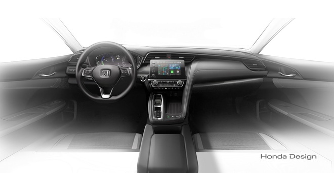 Honda he lo mau sedan Insight dung dong co hybrid hinh anh 2