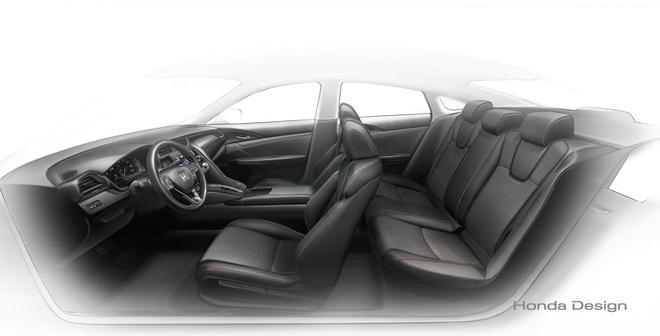 Honda he lo mau sedan Insight dung dong co hybrid hinh anh 3