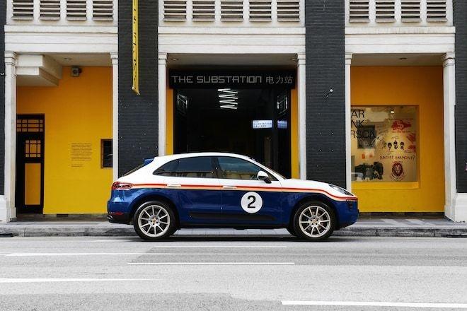 Porsche trung bay 5 phien ban the thao cua SUV Macan tai Singapore hinh anh 3