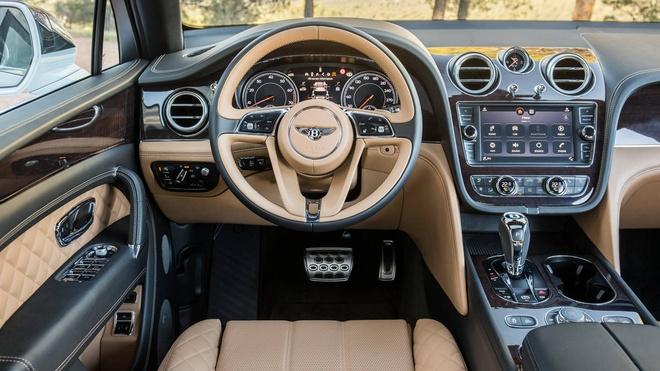 Bentley Bentayga sap ra mat phien ban dong co hybrid hinh anh 4