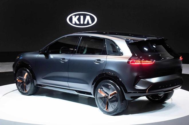 Ra mat SUV dien Kia Niro concept anh 8