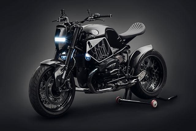 BMW R NineT do Neo-racer - 'dau si bong dem' tu Trung Quoc hinh anh
