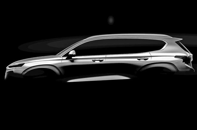Lo dien Hyundai Santa Fe 2018 voi thiet ke hoan toan moi hinh anh 3