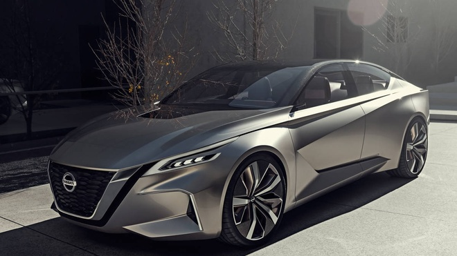 Nissan Altima 2019 - sedan co trung phong cach sieu xe hinh anh
