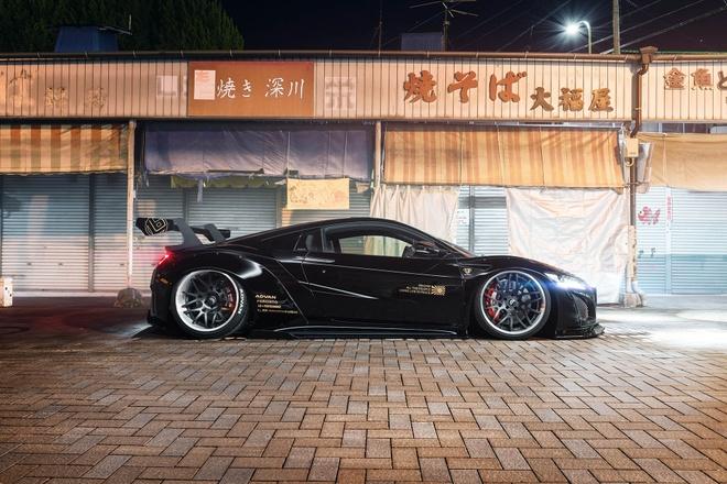 Honda NSX - xe the thao duong pho phong cach chien dau co hinh anh 5