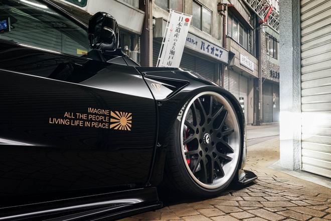 Honda NSX - xe the thao duong pho phong cach chien dau co hinh anh 6