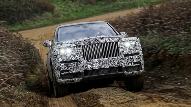 Sieu SUV Rolls-Royce Cullinan lo dien hinh anh