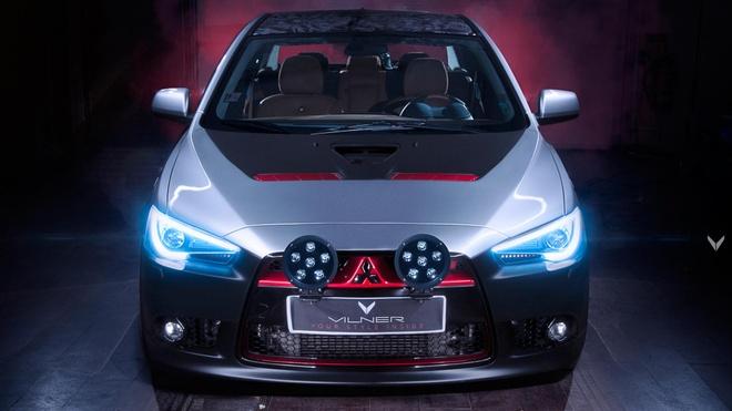Mitsubishi Lancer 2011 do phong cach Samurai hinh anh 1