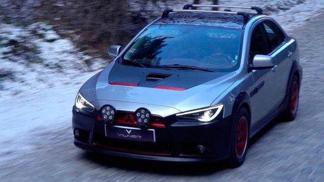 Mitsubishi Lancer 2011 do phong cach Samurai hinh anh