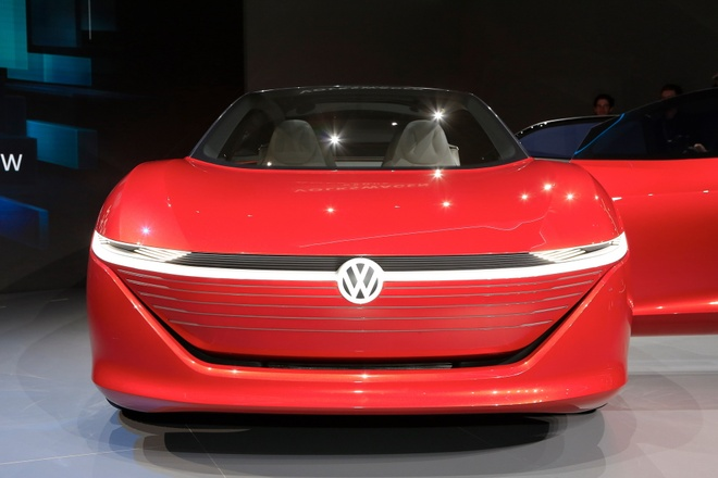 Sieu sedan khong can nguoi lai Volkswagen ID Vizzion ra mat hinh anh 7