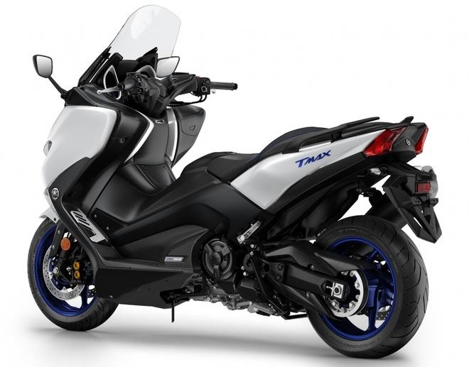 Yamaha TMax ra mat phien ban SX va DX tai chau Au hinh anh 2