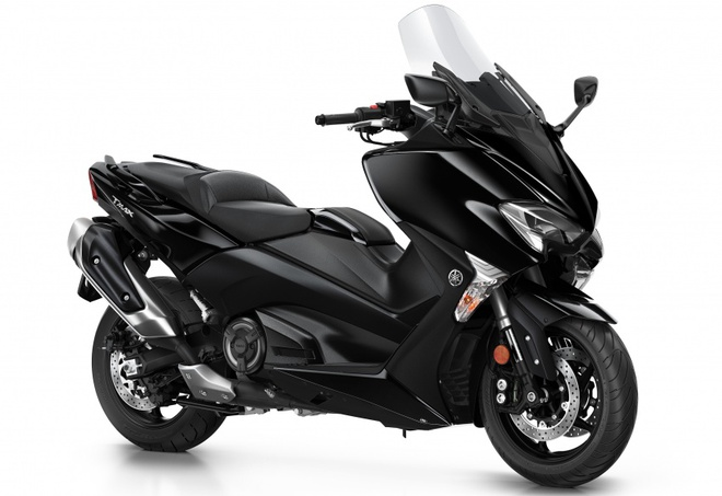 Yamaha TMax ra mat phien ban SX va DX tai chau Au hinh anh 1