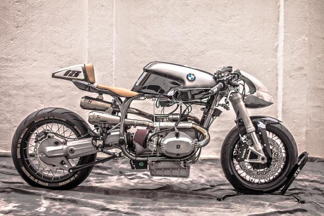 Ban do BMW R100 RS theo phong cach 'vien dan bac' hinh anh