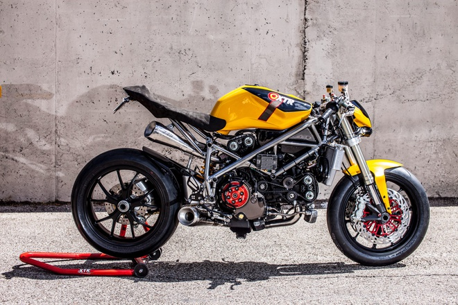 Ducati 848 lot xac voi phong cach Street Fighter hinh anh