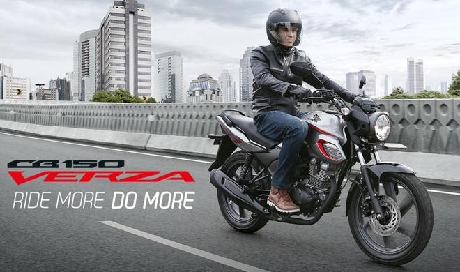 Honda CB150 Verza ra mat thi truong DNA anh 2
