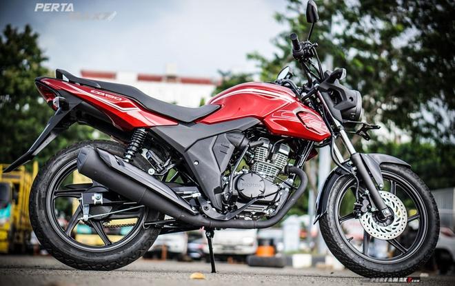 Honda CB150 Verza ra mat thi truong DNA anh 5