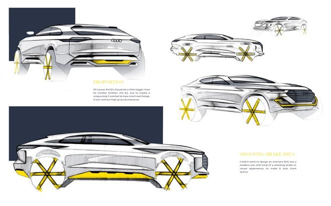 Audi Q1 se ra mat vao nam 2020 hinh anh 2