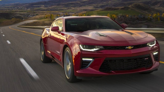 Chevrolet Camaro 2019 ra mat anh 4