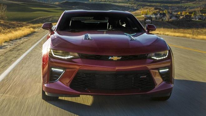 Chevrolet Camaro 2019 ra mat anh 6