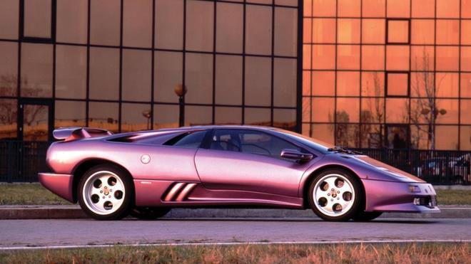 Lamborghini Aventador phien ban mau tim doc nhat anh 3
