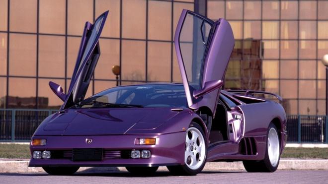 Lamborghini Aventador phien ban mau tim doc nhat anh 2