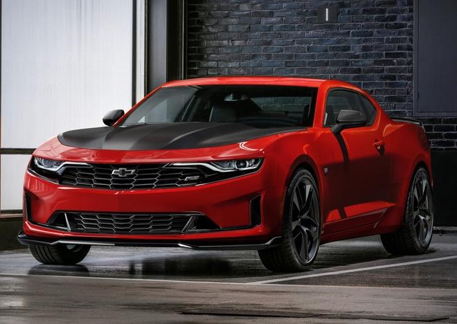 Chevrolet Camaro 2019 ra mat anh 1