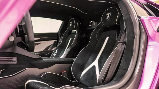 Lamborghini Aventador phien ban mau tim doc nhat anh 7