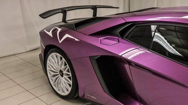 Lamborghini Aventador phien ban mau tim doc nhat anh 6
