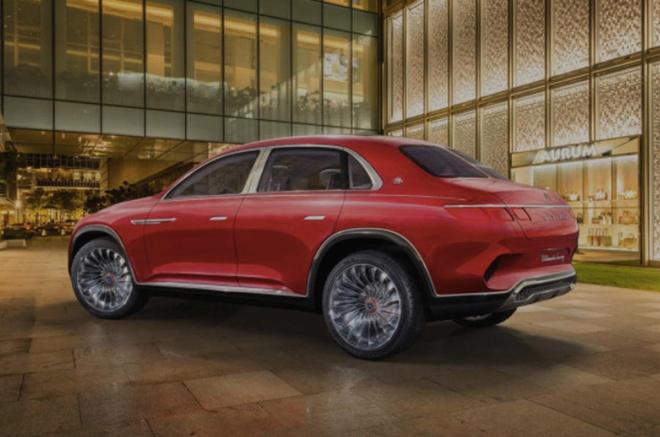 Ro ri hinh anh Mercedes-Maybach SUV truoc them trien lam Bac Kinh hinh anh 8