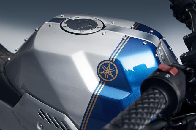 Yamaha MT-03 lot xac voi bo body kit Bunker Custom Janus hinh anh 11
