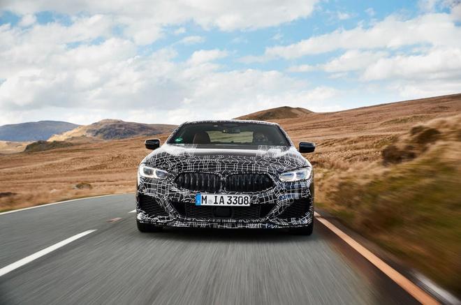 BMW 8-Series bat ngo lo dien truoc ngay ra mat hinh anh 4