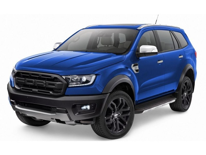 Ford Everest se co them phien ban Raptor hinh anh 1