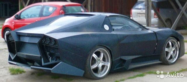 Ban sao Lamborghini Reventon tu xe 've chai' anh 4