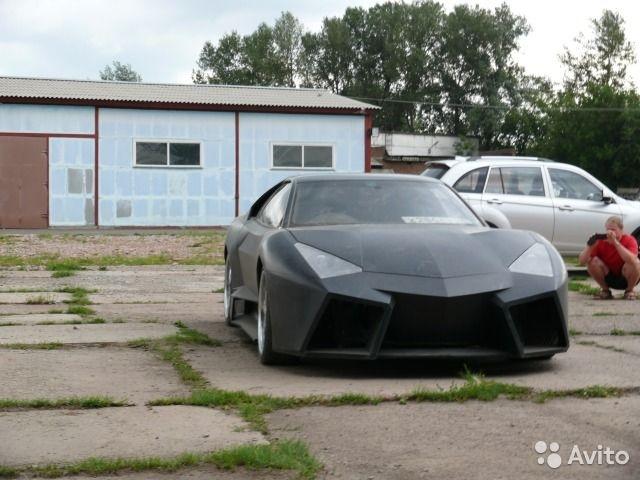 Ban sao Lamborghini Reventon tu xe 've chai' anh 3