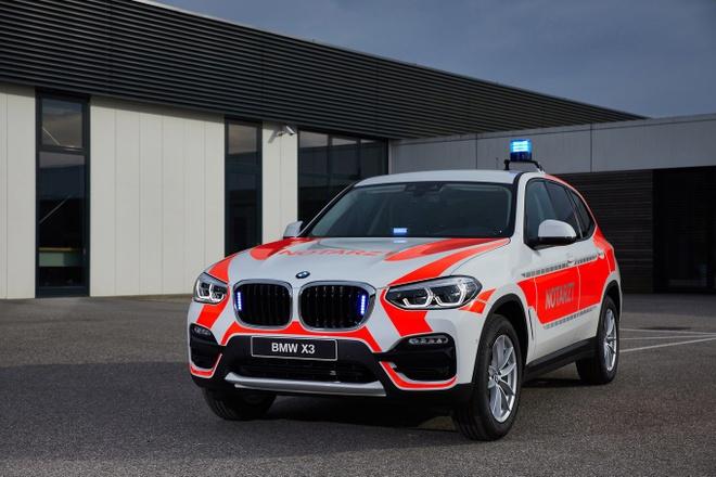 BMW tung 6 mau xe uu tien cho luc luong phan ung nhanh hinh anh