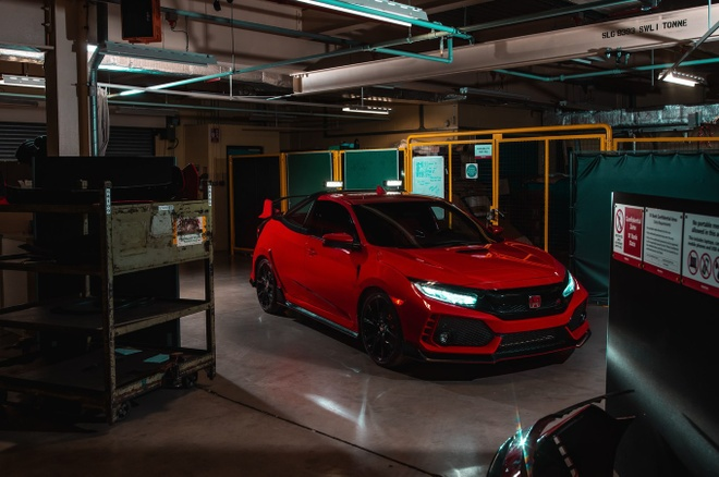 Honda Civic Type R co them ban ban tai cuc doc hinh anh 1